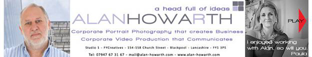 alan howarth video email signature